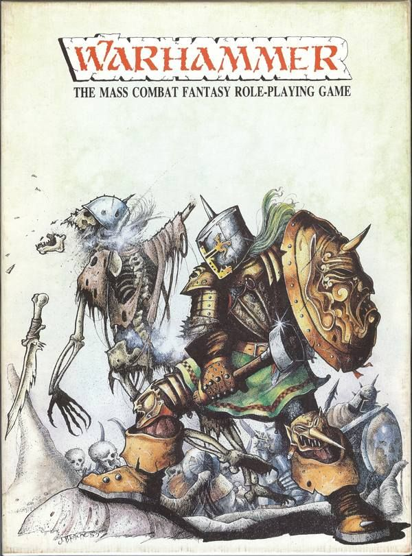 Just a survey on wargames we played Before the age of 40k Rulebook_1_Cover