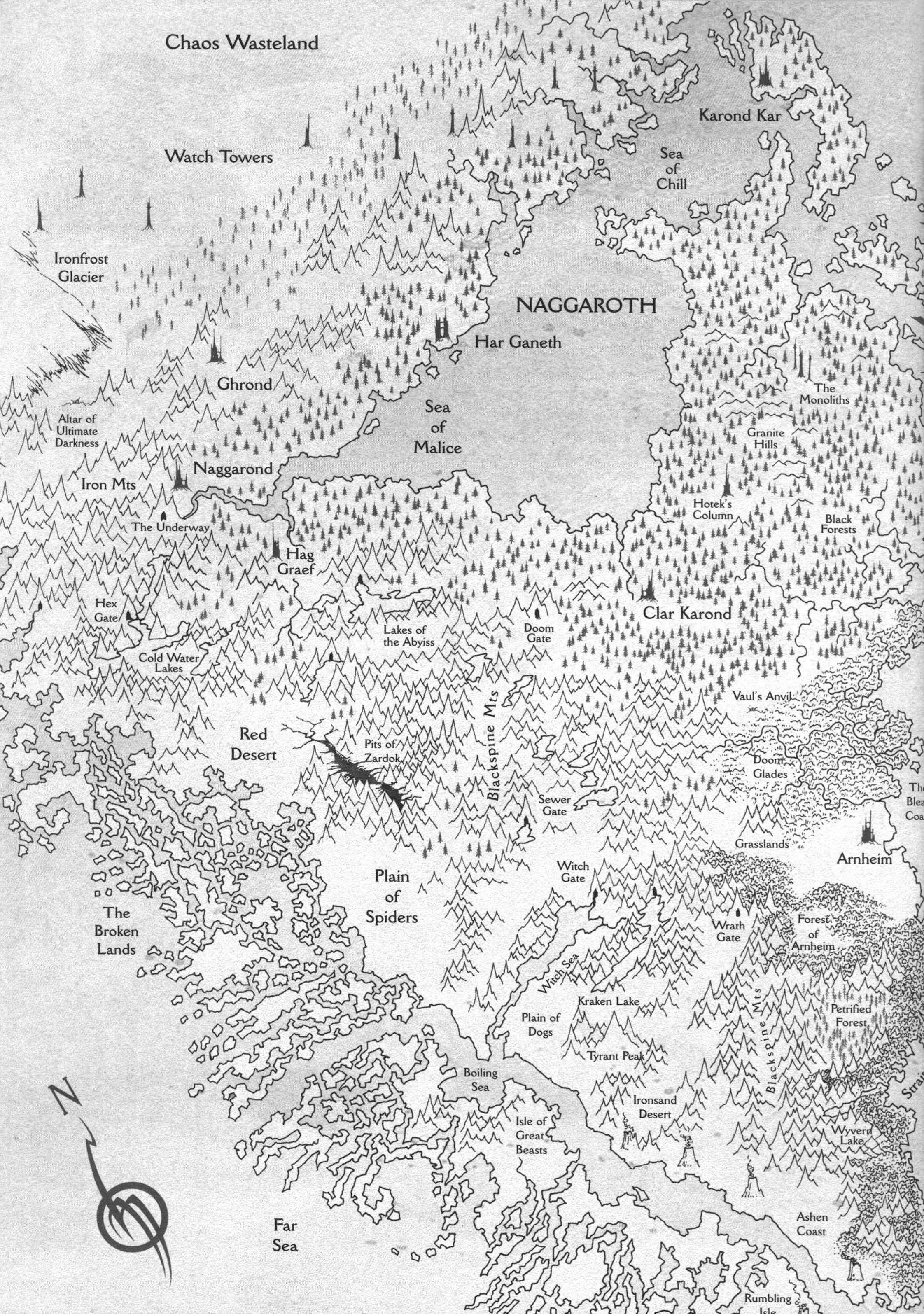 Maps Of The Warhammer World Wargaming Forum And Wargamer Forums