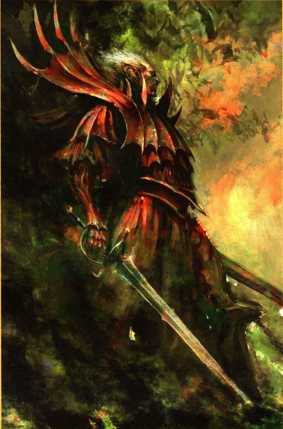 Blood Knights  Knight Warhammer Fantasy And Blood
