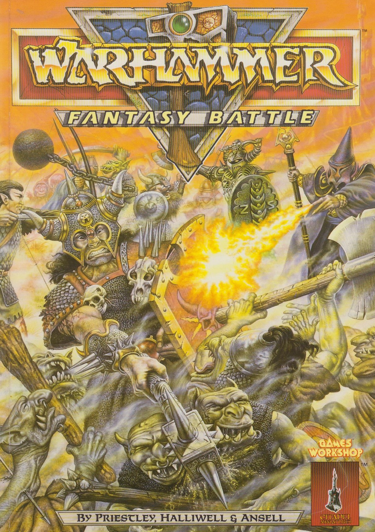 Just a survey on wargames we played Before the age of 40k Rulebook_3_Cover