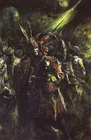 Blood Knight Warhammer The Old World Lexicanum